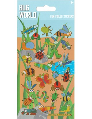 Bug World Sparkle Stickers