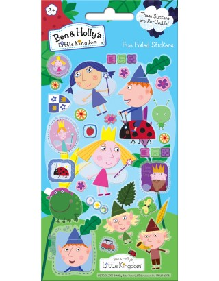 Ben & Holly's Little Kingdom Foiled Sticker Pack