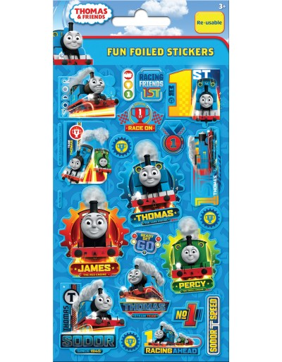 Thomas and Friends Foiled Sticker Pack