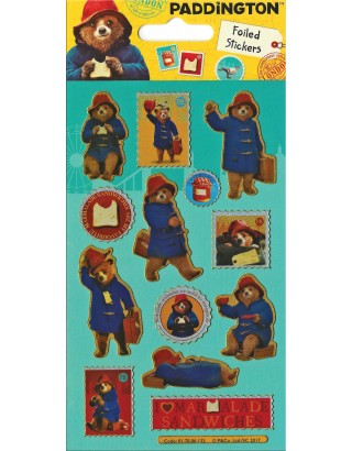 Paddington Movie Foiled Sticker Pack