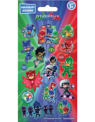 PJ Masks Foiled Sticker Pack