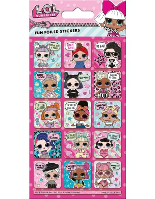 L.O.L. Surprise! Captions Foiled Sticker Pack