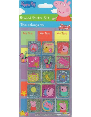 Peppa Pig Large Reward Sticker Set