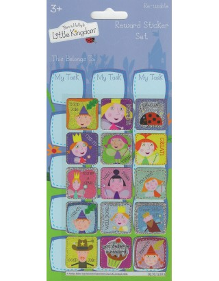 Ben & Holly's Little Kingdom Large Reward Sticker Set
