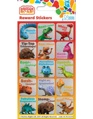 Dinosaur Roar! Reward Sticker Pack