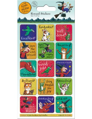 Room on the Broom Reward Sticker Pack