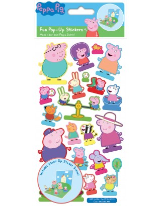 Peppa Pig Pop-Up Stickers