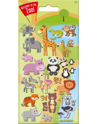 Cute Zoo Kidscraft Stickers