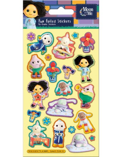 Moon and Me Foiled Sticker Pack