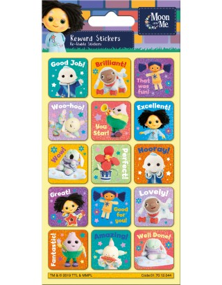 Moon and Me Reward Sticker Pack
