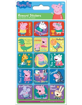 Peppa Pig Rainbow Reward Sticker Pack
