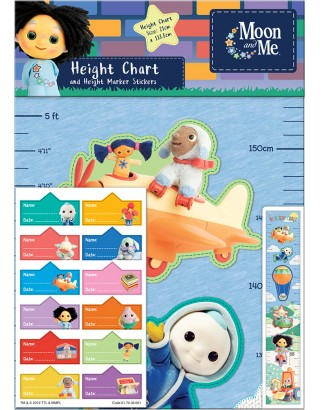 Moon and Me Height Chart