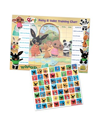 Bing Potty and Toilet Training Reward Chart