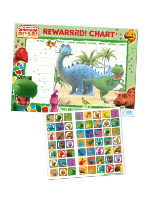 Dinosaur Roar! Reward Chart