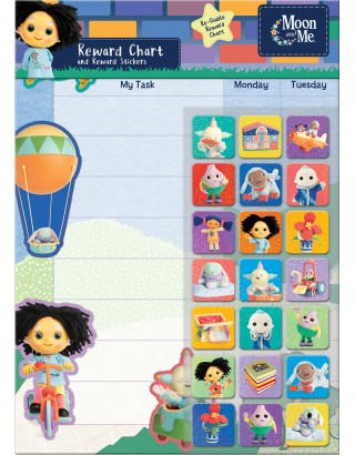Moon and Me Reward Chart