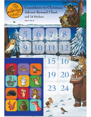 Gruffalo's Child Christmas Advent Reward Chart