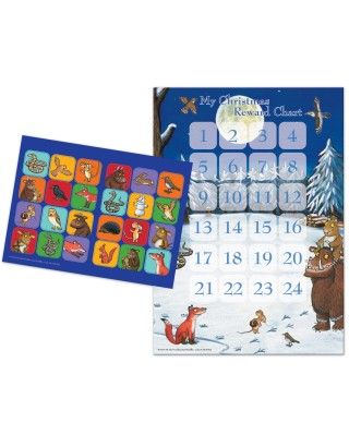 Gruffalo Christmas Advent Reward Chart