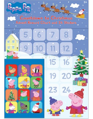 Peppa Pig Christmas Advent Reward Chart