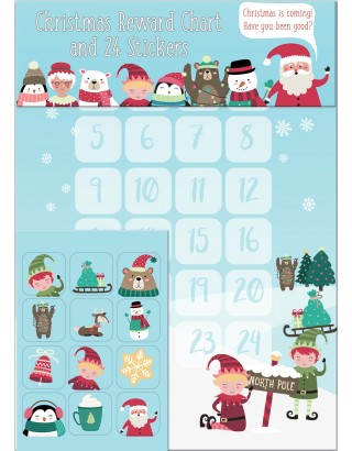 North Pole Christmas Reward Chart