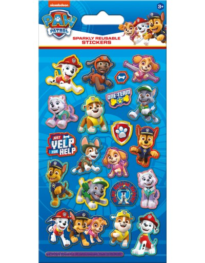 Paw Patrol Foiled Sticker Pack