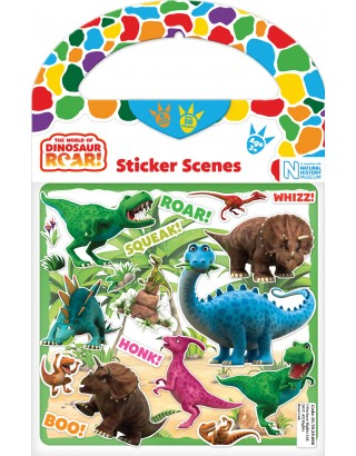 Dinosaur Roar Sticker Scenes