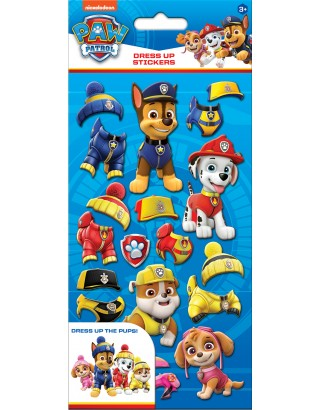 Paw Patrol Dress Up Stickers