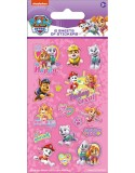 Paw Patrol Pink Party Sticker Pack - 6 sheets