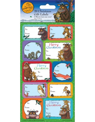 The Gruffalo's Child Christmas Gift Labels