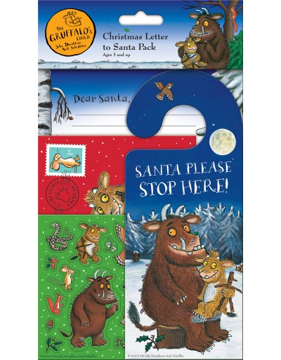 The Gruffalo's Child Christmas Letter to Santa Pack