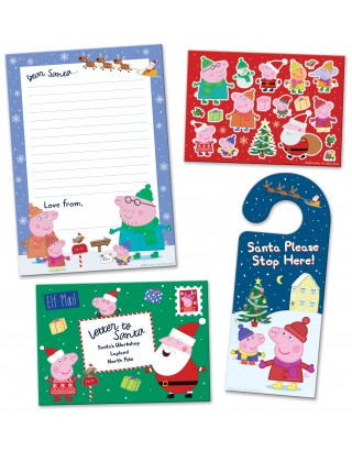 Peppa Pig Christmas Letter to Santa Pack