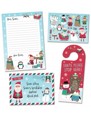 North Pole Christmas Letter to Santa Pack