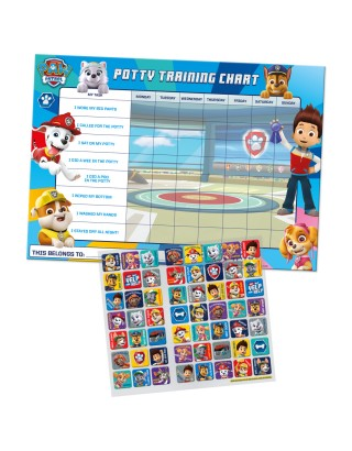 Paw Patrol Potty Training Reward Chart