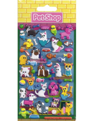 Pet Shop Kids Craft Stickers