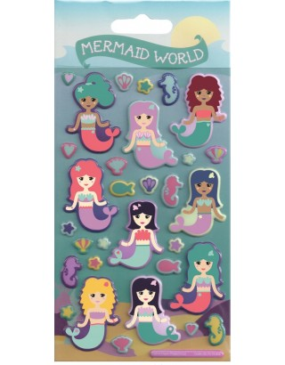 Mermaid World Kidscraft Stickers