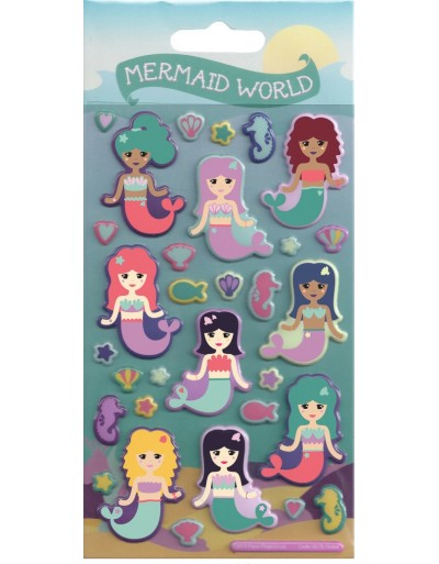 Under the Sea Kids Craft Stickers