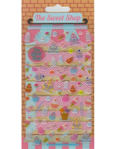 Resin Sweet Shop Kids Craft Stickers