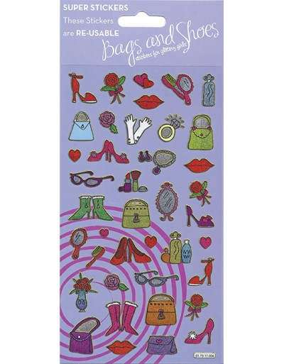Bags & Shoes Large Sparkle Sticker Pack