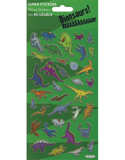 Dinosaurs Large Sticker Pack