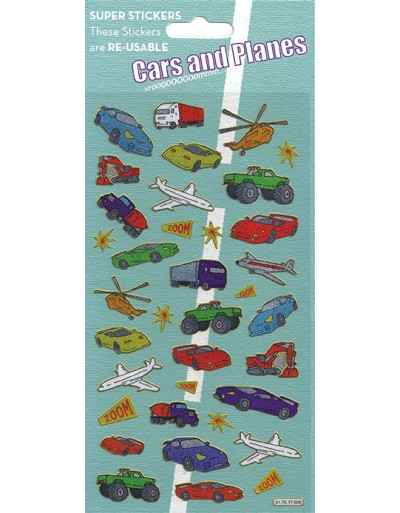 Cars and Planes Stickers