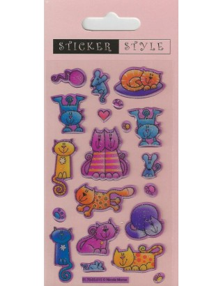 Crafty Cats Craft Stickers