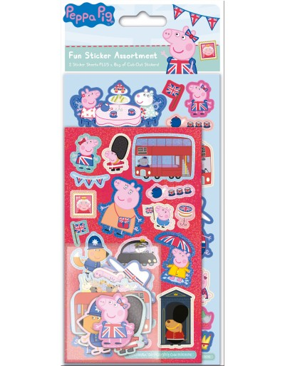 Peppa Pig Glorious Britain Assortment Pack