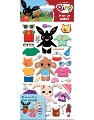 Bing Dress Up Stickers