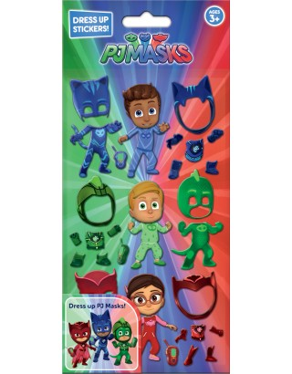 PJ Masks Dress Up Stickers