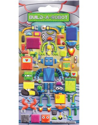 Build a Robot Kids Craft Stickers