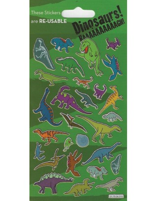 Dinosaurs Sparkle Stickers