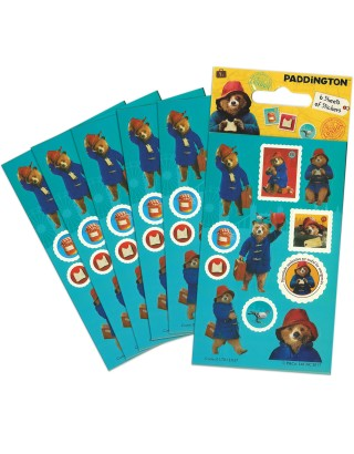 Paddington Movie Party Sticker Pack - 6 sheets