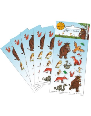 The Gruffalo Party Sticker Pack - 6 sheets